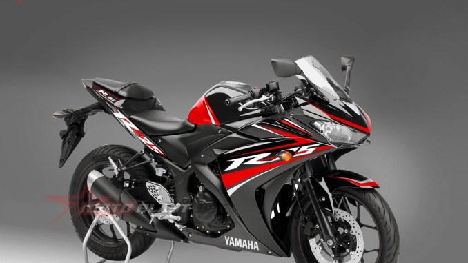 Yamaha R25 Black Simple Graphic kit dari Motoblast