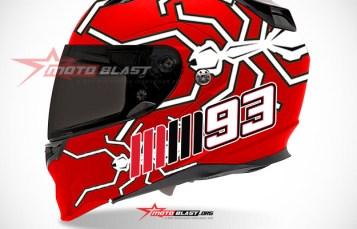 Graphic Kit Helmet Fullface Red Ant MM93