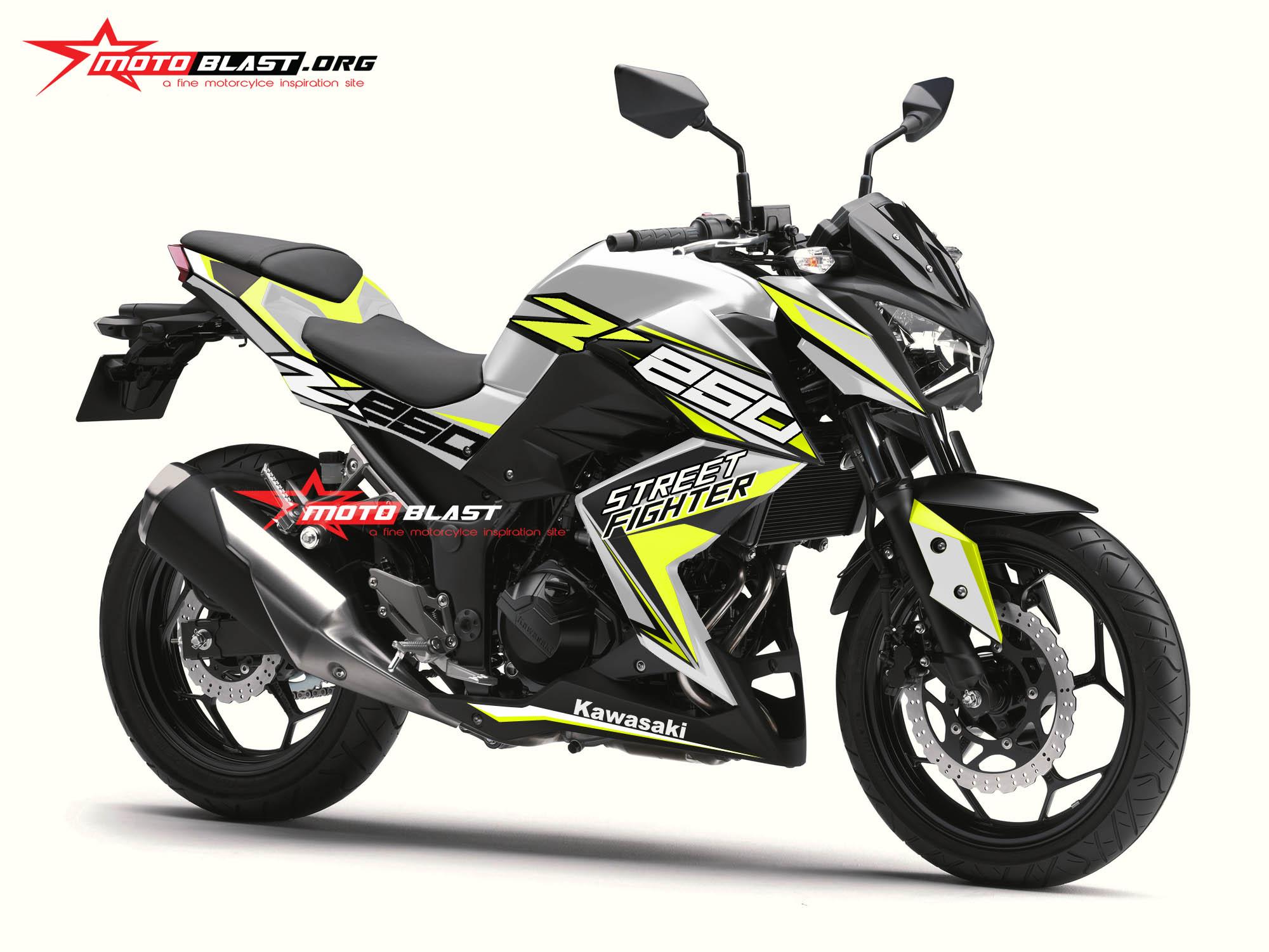 Z250R-WHITE SPORTY