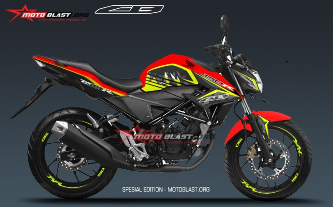 NEW CB150R SE- RED FUNKY1