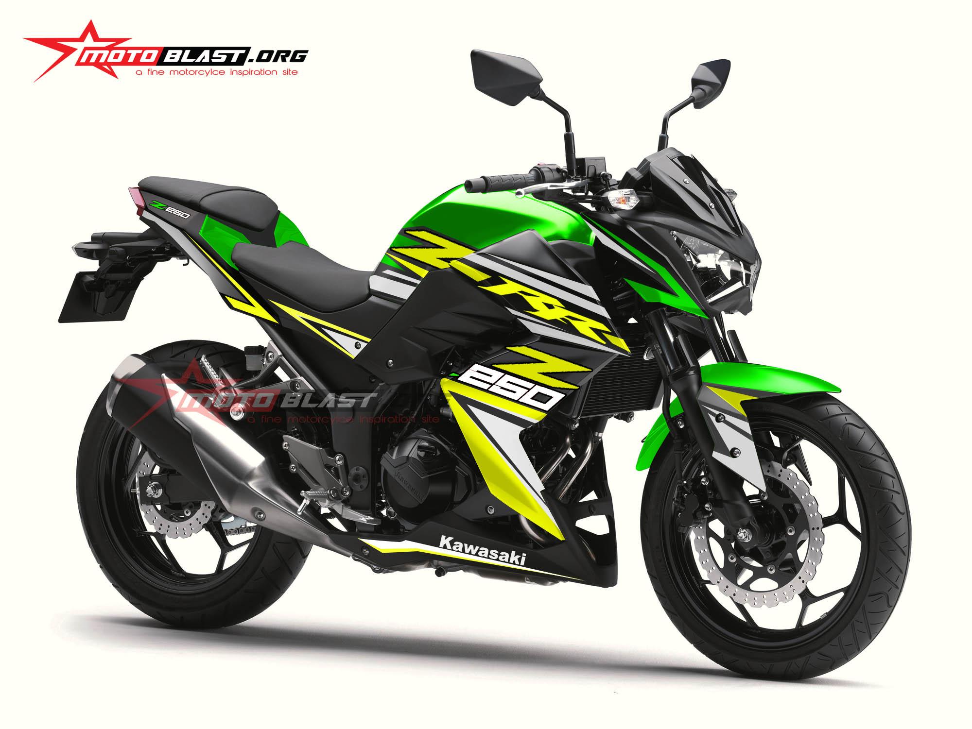 Z250R-GREEN RC-1