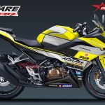 ALL NEW CBR150R WHITE ALSTARE-yellow