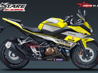 ALL NEW CBR150R WHITE ALSTARE-yellow