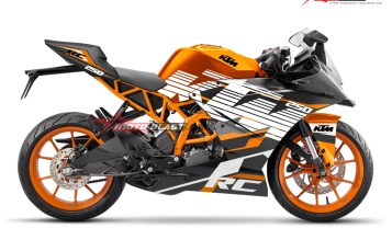 Modifikasi Motor KTM RC Terbaru Race Line