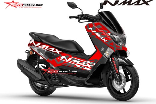 NMAX RED ALA KTM RC