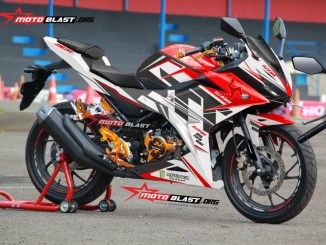 ALL NEW CBR150R WHITE-ISLE MAN TT2
