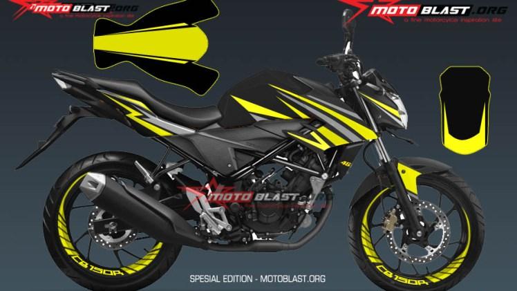 1 NEW CB150R BLACK SPORTY