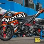 GSX-R150 - BLACK PUZZLE ORANGE