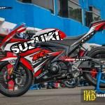GSX-R150 - BLACK PUZZLE RED