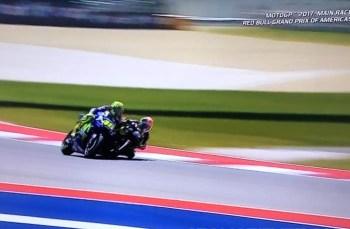 Inilah Penyebab kenapa Valentino Rossi kena Penalty di GP Amerika