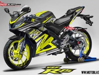 R15 NEW 2017- BLACK YELLOW RC