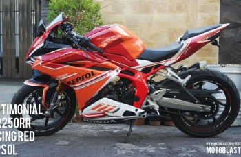 Modifikasi Honda CBR250RR Red Racing fushion Repsol!! Keren bro