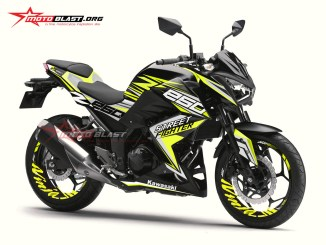 1 Z250R BLACK SPORTY YELLOW