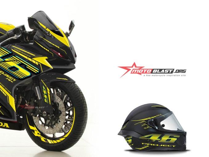 2 CBR250RR BLACK VR46 PROJECT2