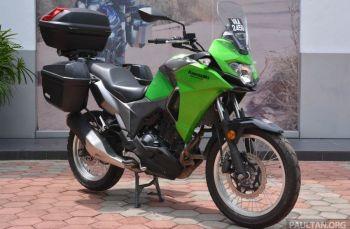 Box khusus untuk Kawasaki Versys-X 250 telah di luncurkan oleh GIVI. Lihat Harga nya