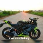 Yamaha All New R15 ala sunmoon winter test VR46 motogp