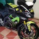 All New Yamaha R15 V3 black ala Movistar motogp 2017