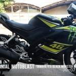 testimonial motoblast yamaha r15 black monster vr46-5