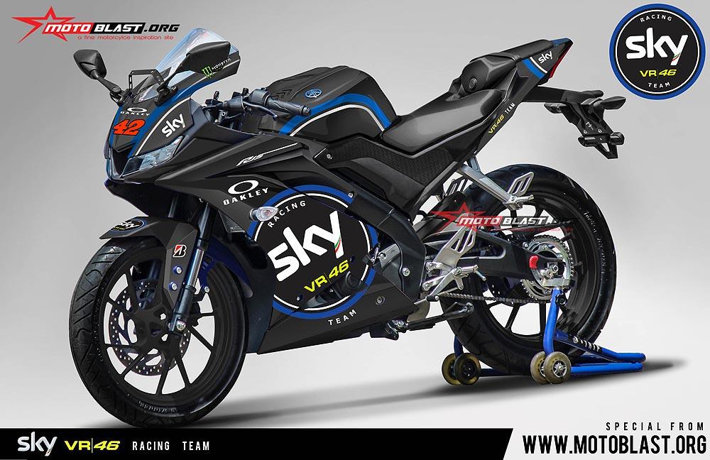 Yamaha New Fairing M Design