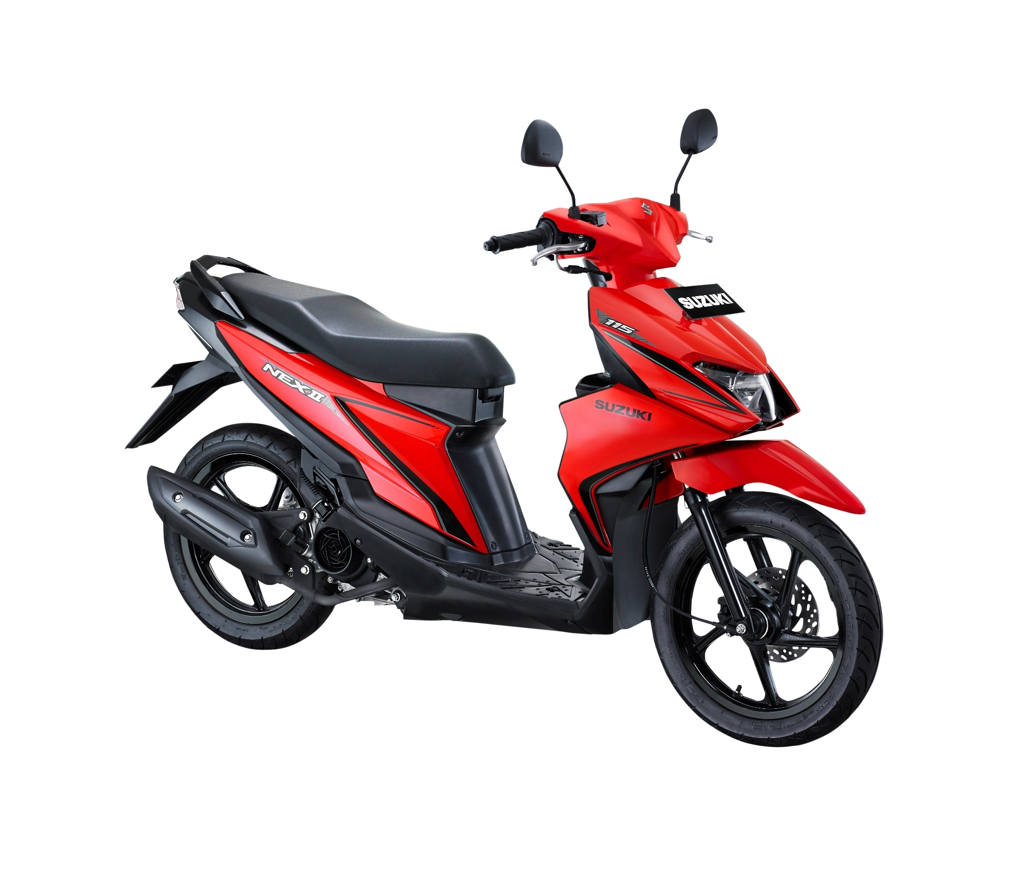 Suzuki NEX II Standard Stronger Red