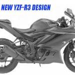gambar desain paten new yamaha r25 facelift 2019