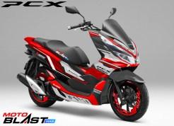 PCX 150 Supermaxi-black1