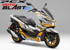 PCX 150 white Supermaxi6