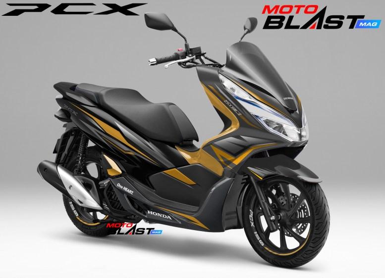 PCX 150 BLACK WINGS7