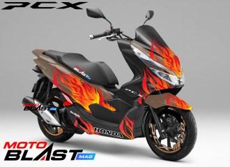PCX 150 flameblast2
