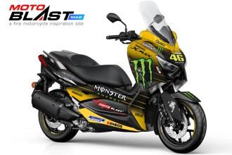 XMAX 250 - MONSTER ENERGY GP 2019-yellow