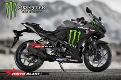 Yamaha-YZF-R25-MONSTER ENERGY MOTOGP 2019-grey