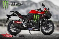 Yamaha-YZF-R25-MONSTER ENERGY MOTOGP 2019-red