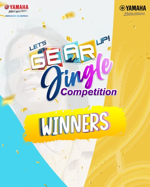 Lets gear up jingle competition winners