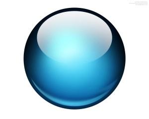 blue-glossy-ball