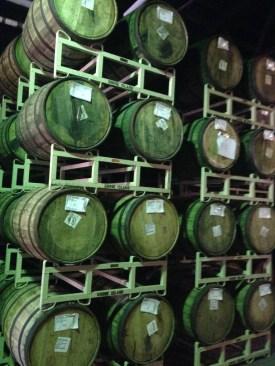 Goose Island Barrels