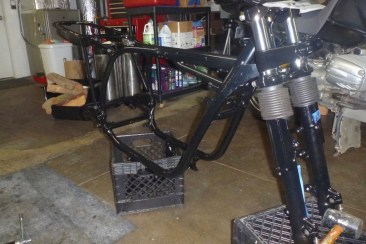 Frame after Powder Coating