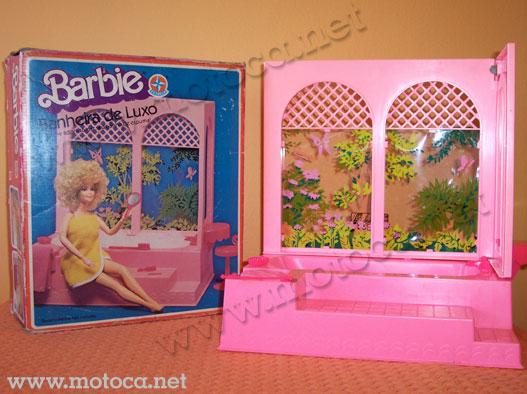 caixa banheira barbie