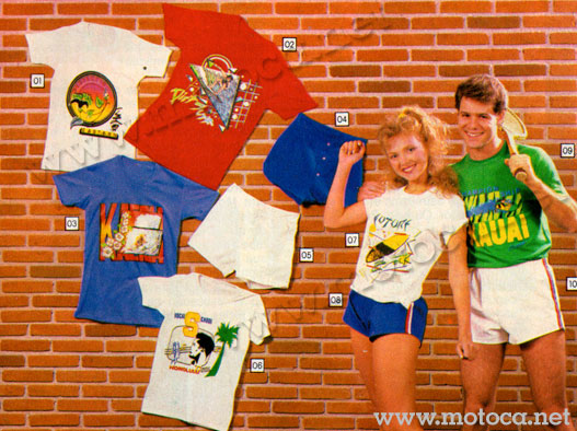 camisetas anos 80