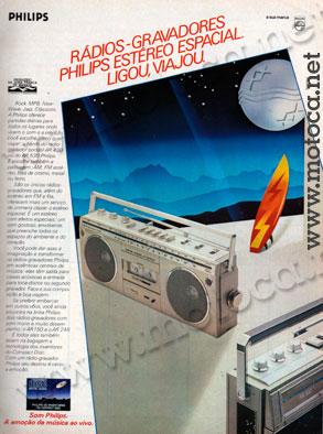 radio-gravador philips