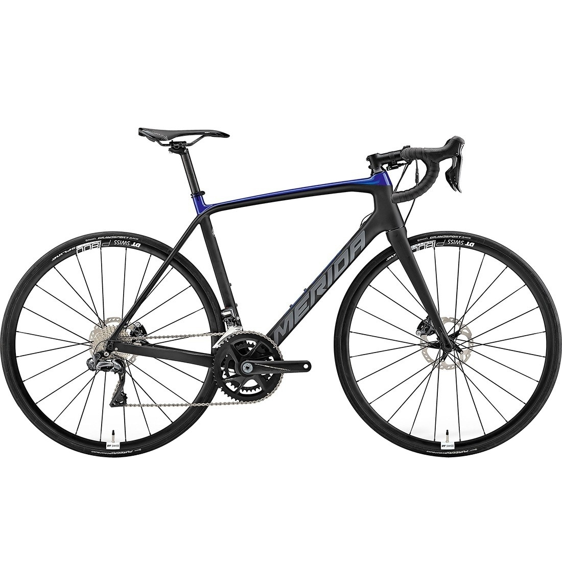 Vélo de route MERIDA Scultura Disc 7000 E 2019 Black