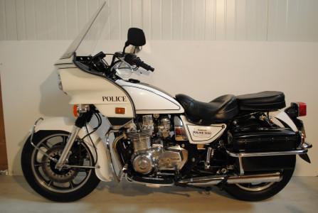 hight resolution of kz1000p police