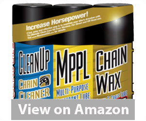 Best Motorcycle Chain Lube - Maxima 3PK Chain Wax Combo Kit Review