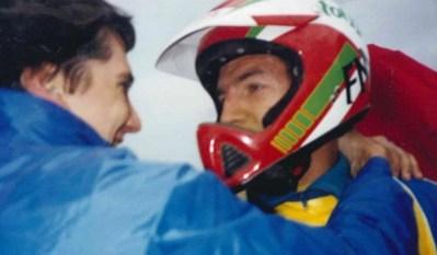 1989 Manuele Franchi e Paolo Fellegara alla 6 giorni