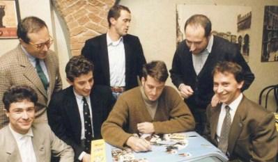 1991 Enrico Muraglia 1°campione del mondo Fornaroli