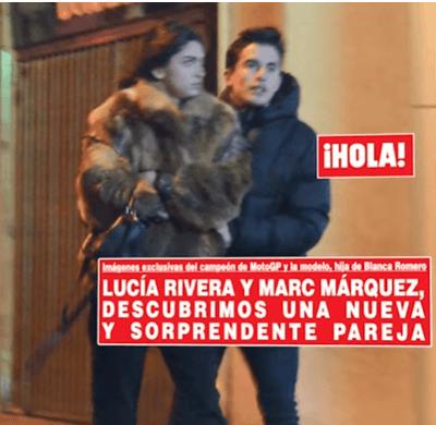 Petite Amie de Marc Marquez Lucia Rivera