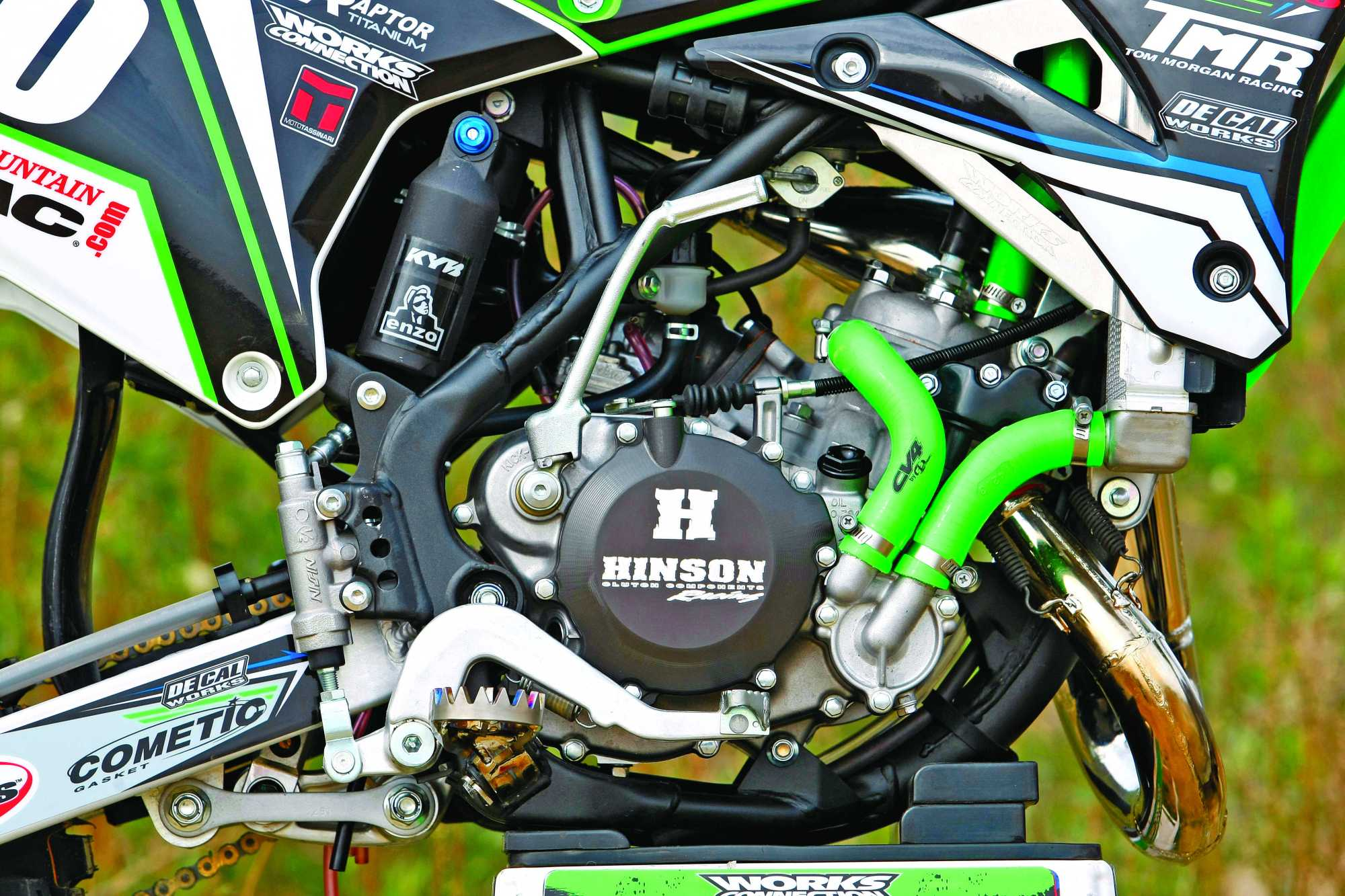 hight resolution of kx100 clutch