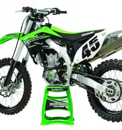 the biggest electronic change to the 2015 kawasaki kx450f is the addition of traction control  [ 1200 x 800 Pixel ]