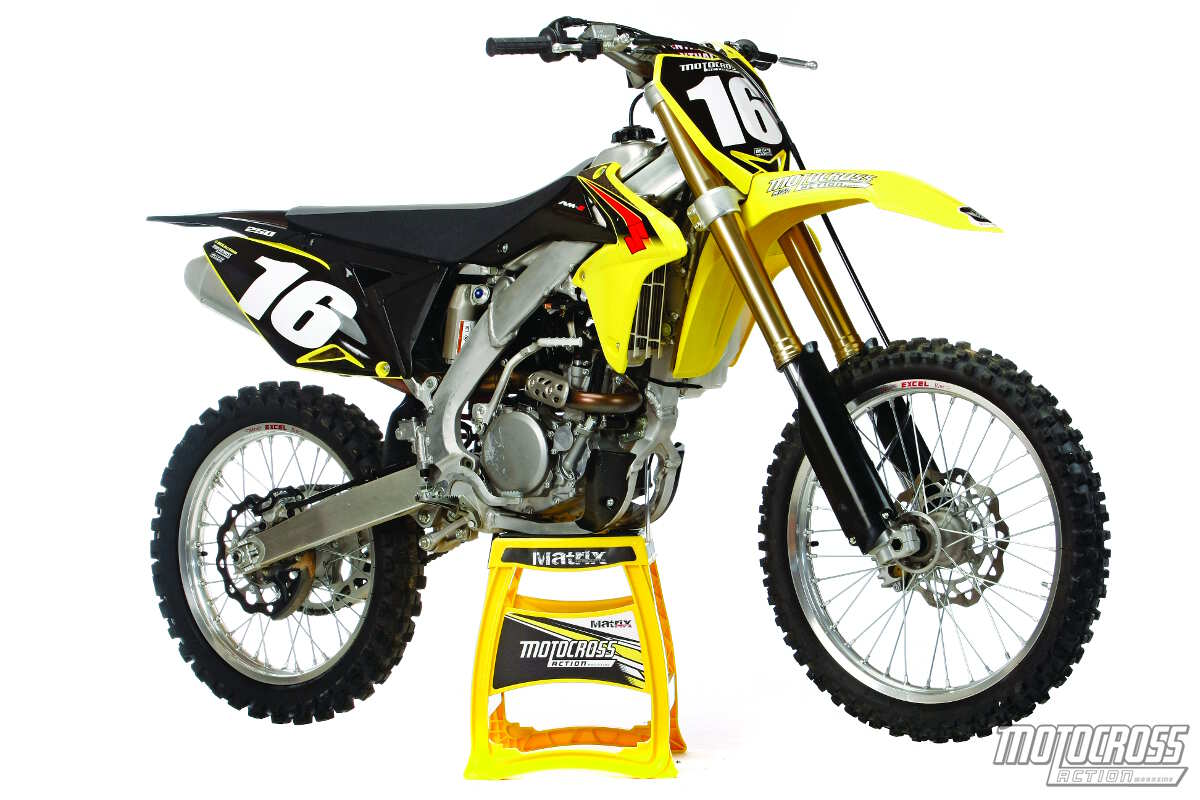 hight resolution of repeat suzuki didn t make any quality updates to the 2015 rm z250