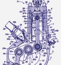 i read that honda is working on a two stroke engine with fuel injection and even saw the patent drawings mxa s readership demands more information about  [ 750 x 1100 Pixel ]