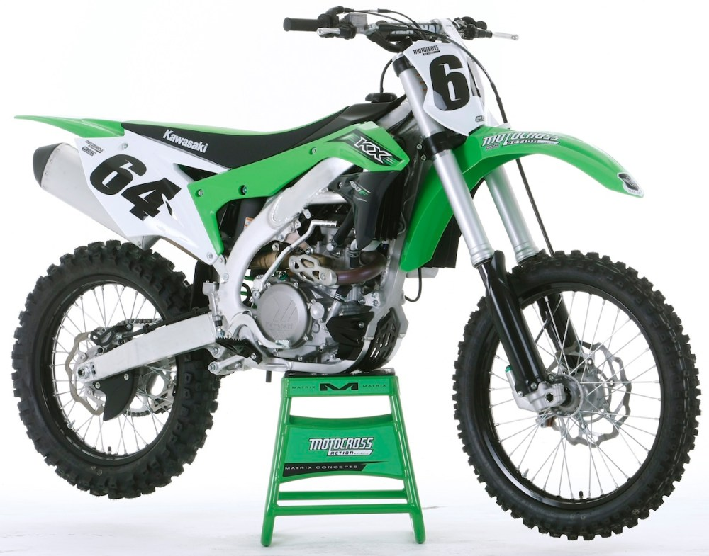 medium resolution of after years of bing big and bulky the kawasaki engineers put the kx450f on a